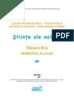 Stiinte, clasa3