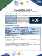 Guía de actividades y rúbrica de evaluación - Paso 1 - Reconocimiento general y de actores