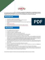 Requisitos y Recaudos Al Curso Introd. 2019