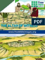 Visuales de Historia de Josué y El Altar