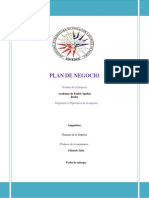 Plan de Negoc