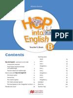 Hop into English B - Teacher's book