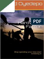 The Hardwork Factor_ Stop Spend - David Oyedepo_220518211139