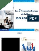 CALIDAD Los 7 Conceptos Básicos de La Nueva ISO 9001_2015. Los 7 Conceptos Básicos de La Nueva ISO 9001_2015