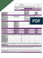 Ficha Formulario Vinculación