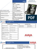 manual telefono avaya 1408