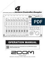 Zoom R24 Operation Manual