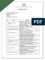 Relatório Atitudinal Geografia 2P 8 9