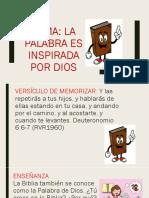 La Palabra es inspirada por Dios.pptx