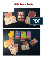 Sushi Go Scorecards & Summary Ready to Print