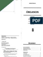 Organon - Aristóteles