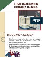 Automatizacion en Bioquimica Clinica 2019