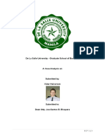 Case Report on Tangco vs Safeguard Security Agency