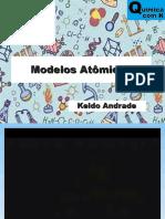 Aula 03 - Modelos Atômicos