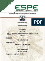 Informe Redes Acceso