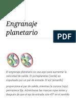 Engranaje planetario - Wikipedia, la enciclopedia libre.pdf