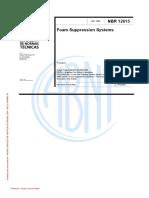 ABNT NBR 12615 Sistema de Combate a Incêndio Por Espuma ( 062815) Rap-Eng Final