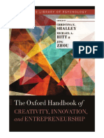5 the Oxford Handbook of Creativity, Innovation and Entrepreneurship