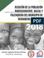 Caracterizacion Afro Tauramena 2018