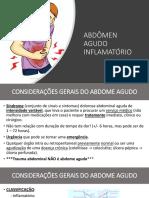 Abdomen Agudo Inflamatório Completo
