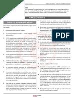 Semana de Simulados INSS - Direito Administrativo - GABARITO