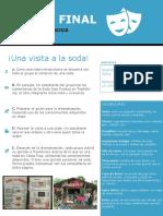 Tarea Final - La Soda