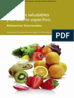 Alimentos Saludables y de Diseno Específico