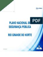 Plano Municipal de Segurança Pública Para a Cidade de Natal