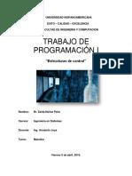 Estructuras de Control - Programación I