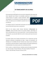 Fuentes de Financiamiento en Colombia
