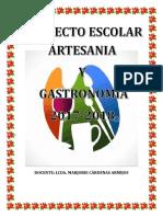 Proyecto-2017-De Artesania y Gastronomia