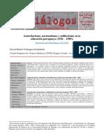 Autoritarismo, Nacionalismo y Militarismo en La Educación Paraguaya