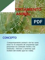 Diapositivas Comportamiento Animal