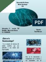Nanotecnología, María Laura García Informática II s03
