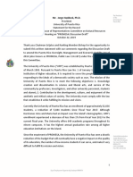 Ponencia Congreso - Presidente UPR