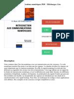 Introduction aux communications numériques PDF - Télécharger, Lire