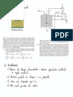 Modelagem para Controle de um Processo Físico - Reservatório Com Camisa