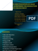 b.pharmacy Project Sd of Glimepiride