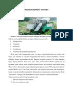 5 Mesin Pertanian Modern