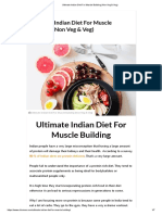 Ultimate Indian Diet For Muscle Building (Non Veg & Veg).pdf
