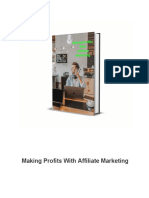 Making Profits With Affiliate Marketing