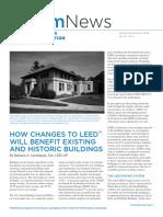 historic buildings, leed certification
