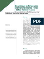 Modelo de Dinámica de Sistemas para la Gestión del Emprendimiento, Fondo Emprender - SENA, Valle del Cauca.pdf