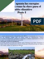 José Eustaquio Pérez - La ONU Apunta Las Energías Renovables Como La Clave Para El Cambio Climático, Parte I