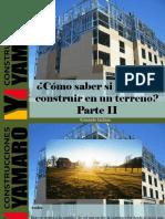 Armando Iachini - ¿Cómo Saber Si Se Puede Construir en Un Terreno?, Parte II