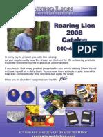 Roaring Lion Catalog Web