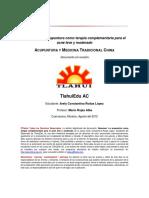 acupuntura acne
