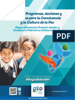 GUANAJUATO Guia Programas Acciones Convivencia Escolar