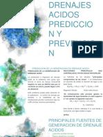 Drenajes Acidos Prediccion y Prevencion