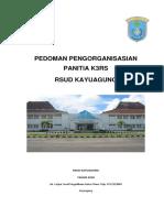 PEDOMAN PENGORGANISASIAN PANITIA K3 RSUD KAYUAGUNG.docx